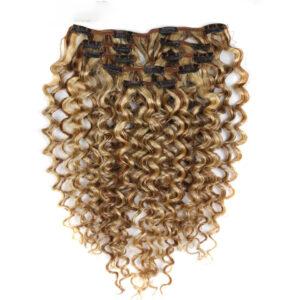 Hair Clip 7Pcs In Human Hair Extensions