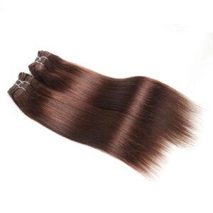 Brazilian Straight Hair Weave Black Brown