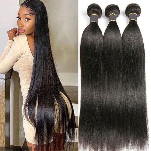 Straight Hair Bundles Peruvian Hair Bundles Remy
