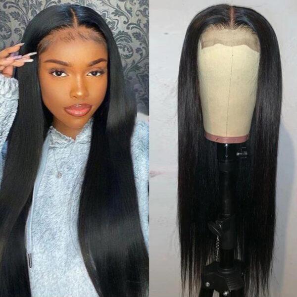 30 Inch Wig Transparent Lace Closure Wig