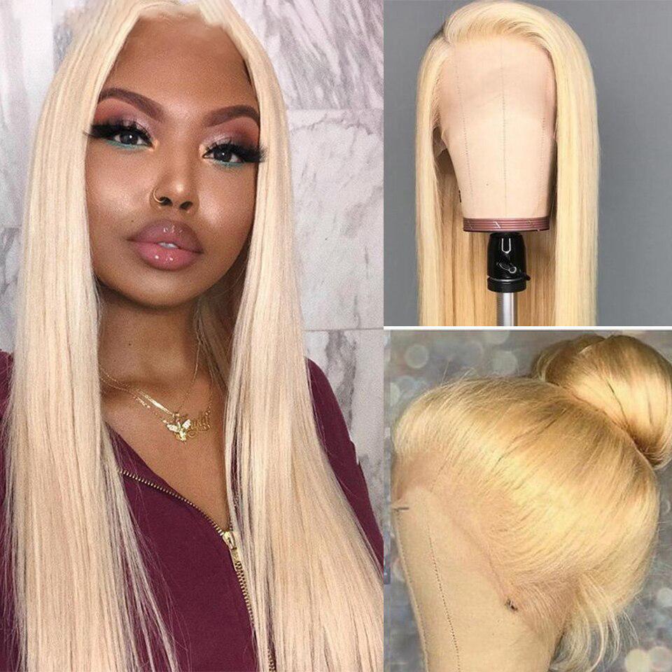Frontal Wig Brazilian Straight Human Hair Wigs