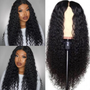 Deep Wave Wig 13X4 Lace Front Human