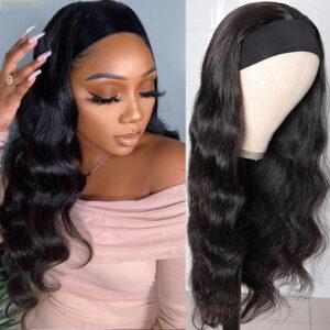 Headband Wigs Human Hair Body Wave
