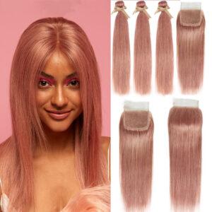 Brazilian Straight Remy Human Hair