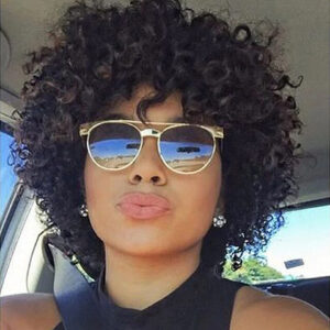 Short Loose Curly Wigs For Black Women