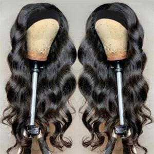 Malaysian Body Wave Headband Wig