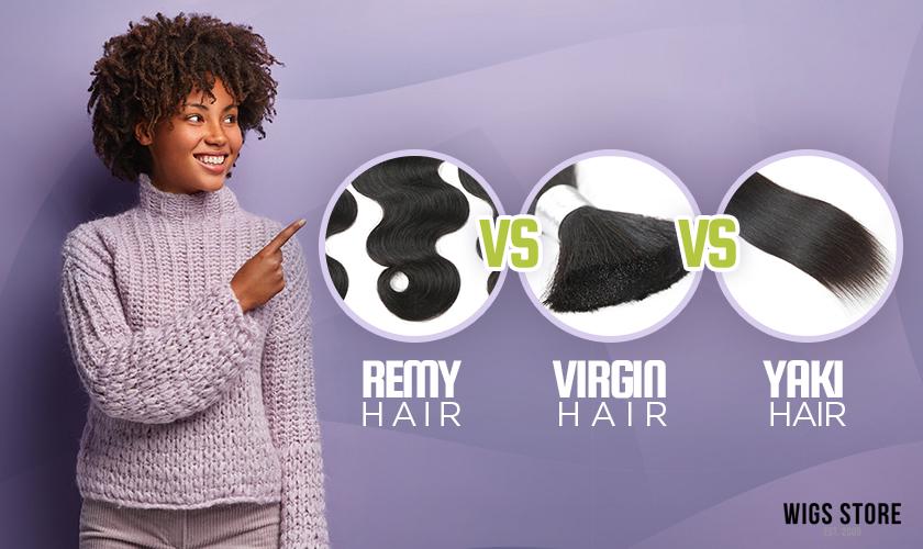 Remi Virgin Yaki Hair